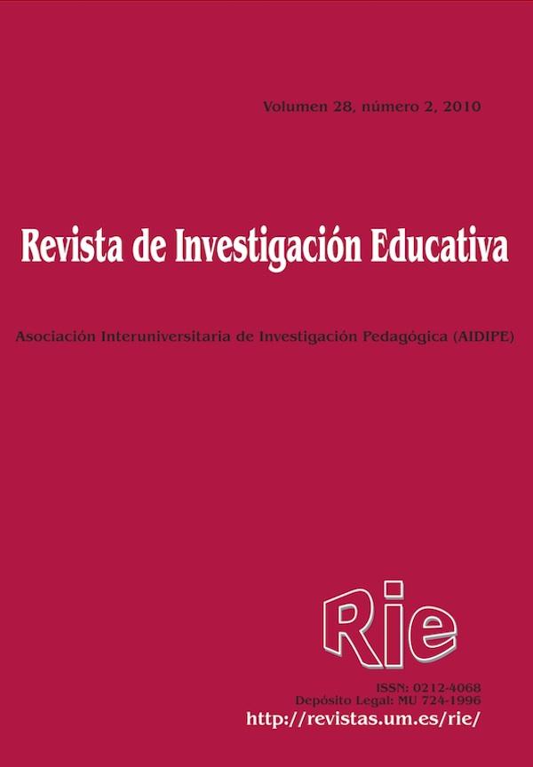 Revista de Investigación Educativa, 28 (2) de 2010