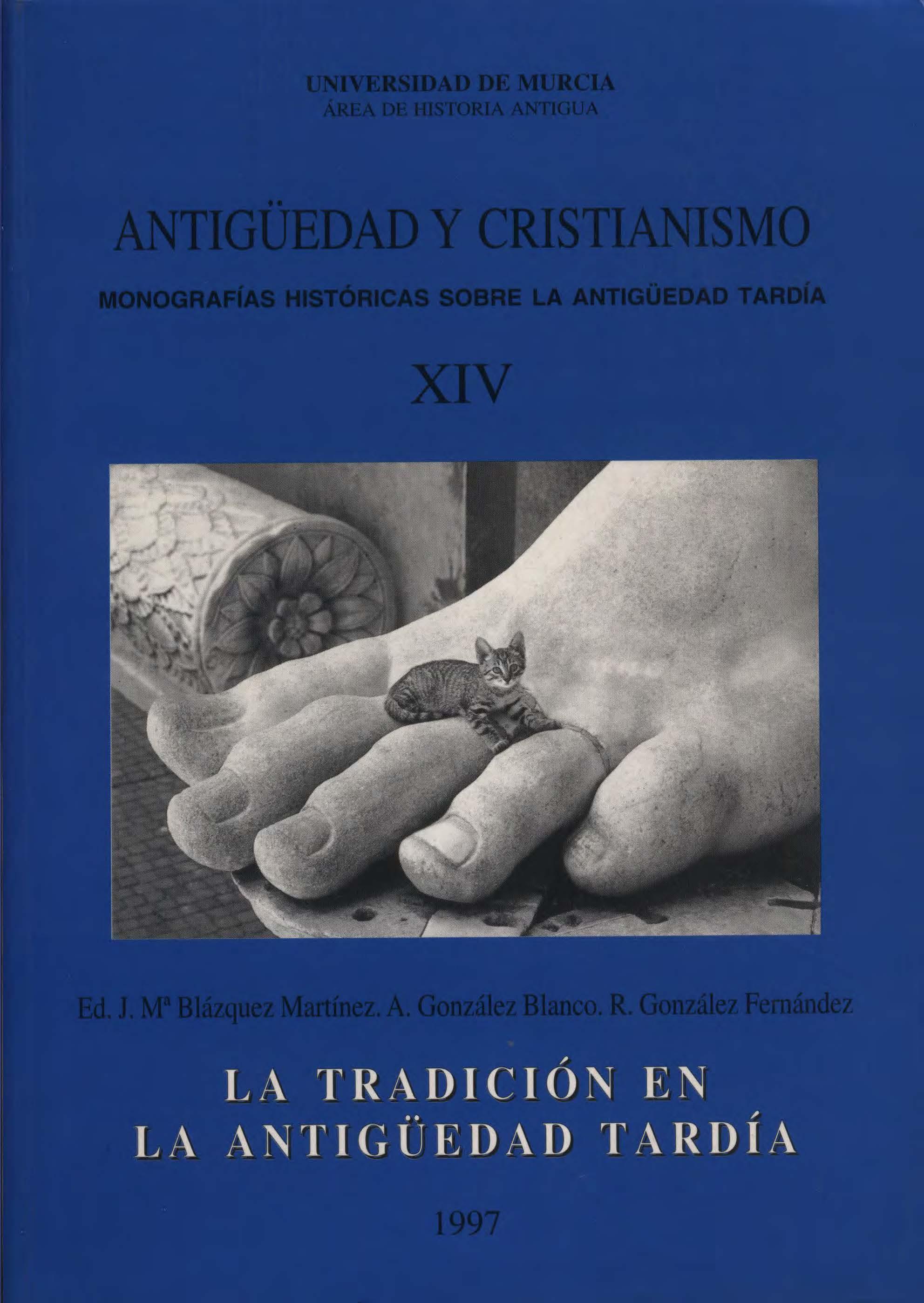 Ver Núm. 14 (1997): La tradición en la Antigüedad Tardía