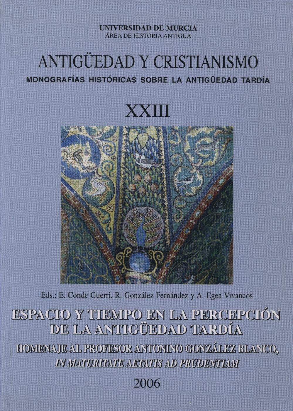 Antigüedad y Cristianismo XXIII