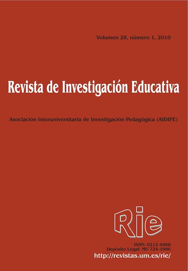 Revista de Investigación Educativa, 28 (1) de 2010