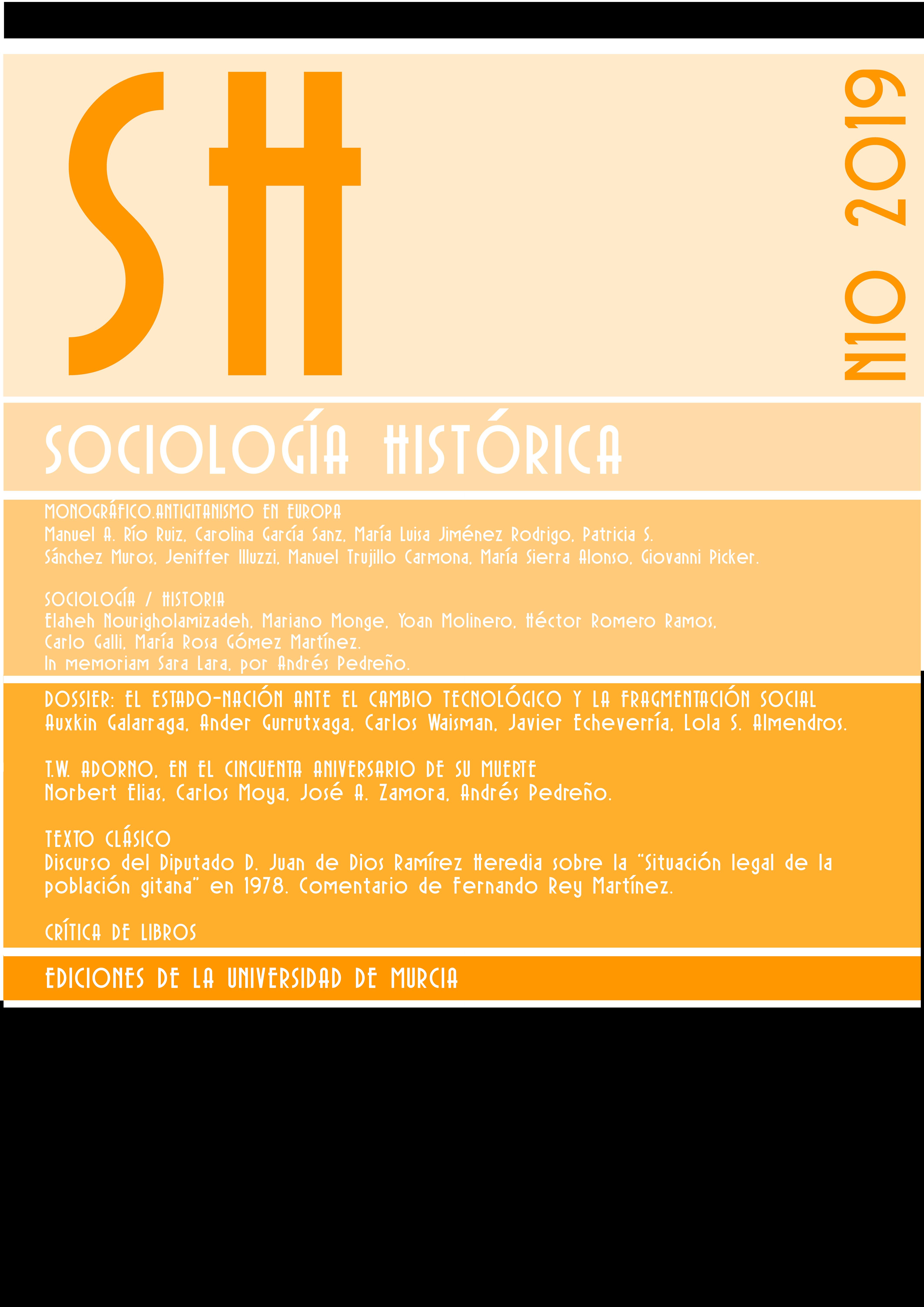 Ver Vol. 10 Núm. 1 (2019): Antigitanismo en Europa