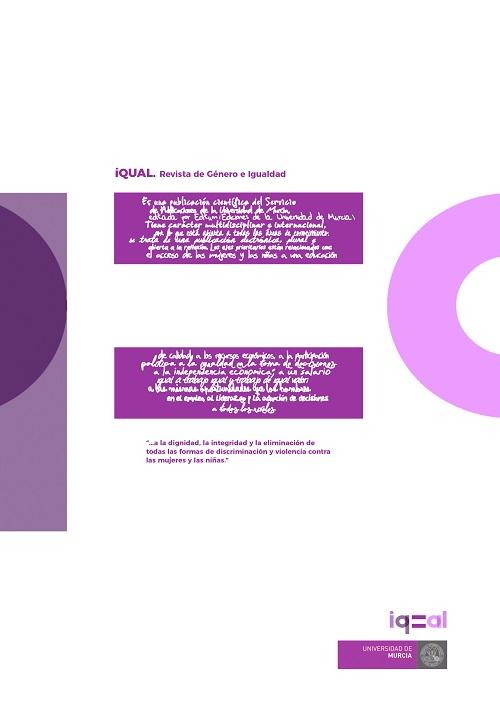 Ver Núm. 4 (2021): iQual. Revista de Género e Igualdad