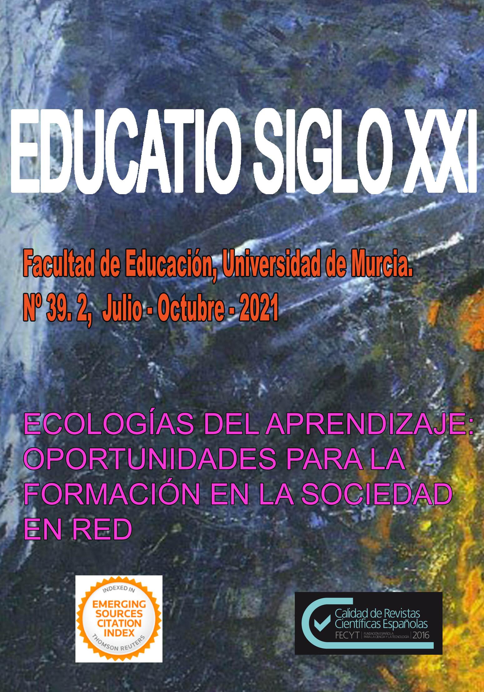 Ver Vol. 39 Núm. 2 (2021): Ecologías de aprendizaje: oportunidades para la formación en la sociedad en red